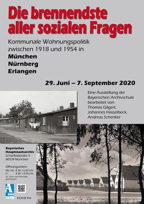 Bild 1: Plakat zur Ausstellung (Karin Hagendorn, Generaldirektion der Staatlichen Archive Bayerns)